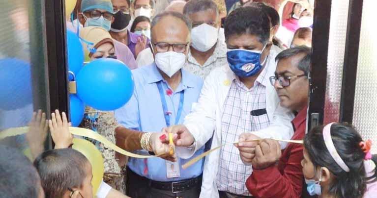শহীদ সোহরাওয়ার্দী হাসপাতালে চালু হলো 'শিশু কর্নার'