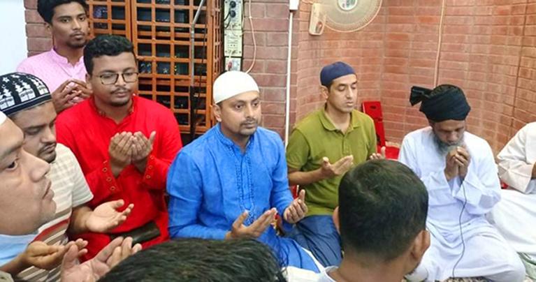 খালেদা জিয়ার রোগমুক্তি কামনায় ছাত্রদলের দোয়া মাহফিল
