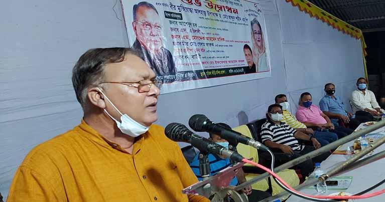 কমলগঞ্জে নতুন বিদ্যুৎ সংযোগের উদ্বোধন